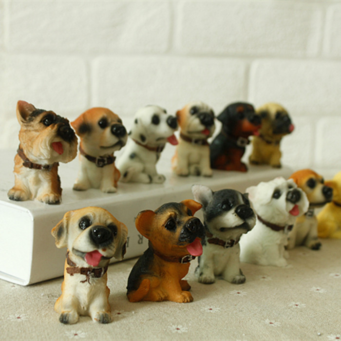 12 Twelve Dogs Resin Crafts Ornaments Birthday Gift Ideas Lucky