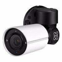Hamrolte PTZ IP Camera 5MP/2MP 4xZoom Auto Focus (2.8 12mm) Bullet Outdoor Camera IP66 Waterproof 50M IR Distance H.265 Hisee