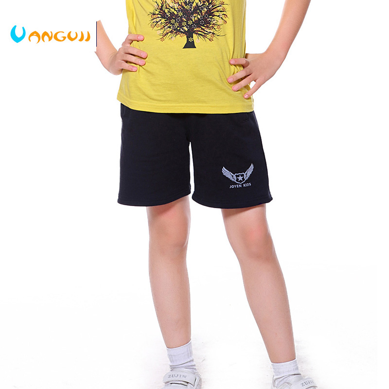 The boy all-match sports shorts in the summer of 2017 children aged 3-11 hot print cotton blended comfortable shorts