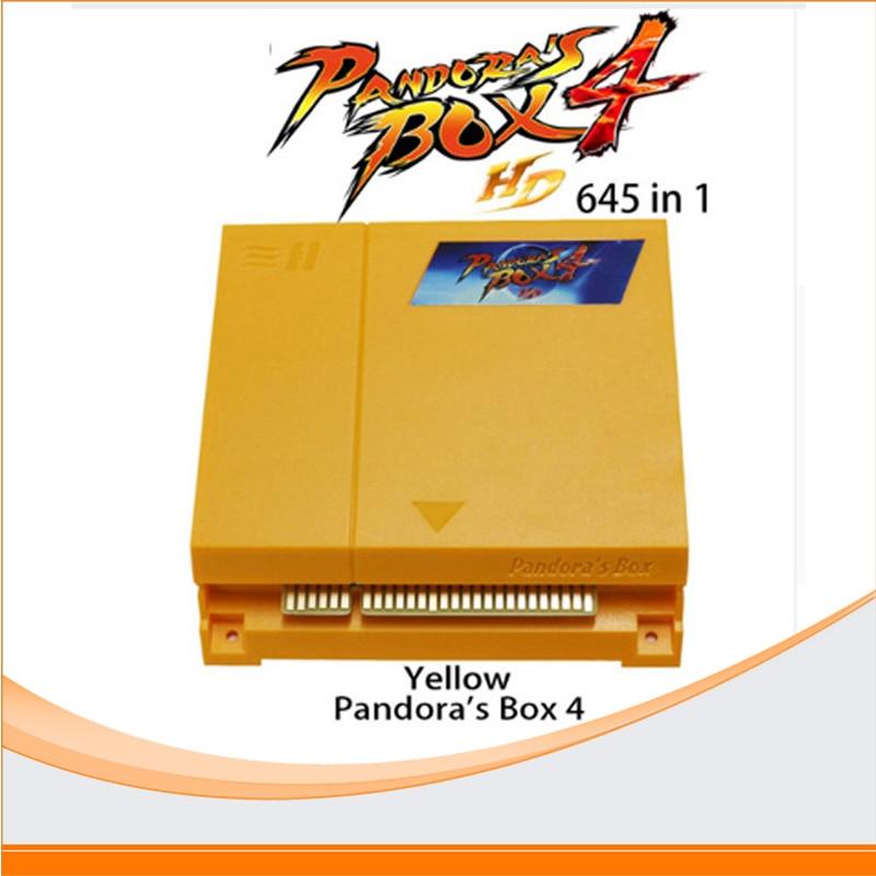 Original Pandora's Box jamma arcade multi game board 645 in 1 game cartridge multi-game VGA & CGA output for LCD & CRT