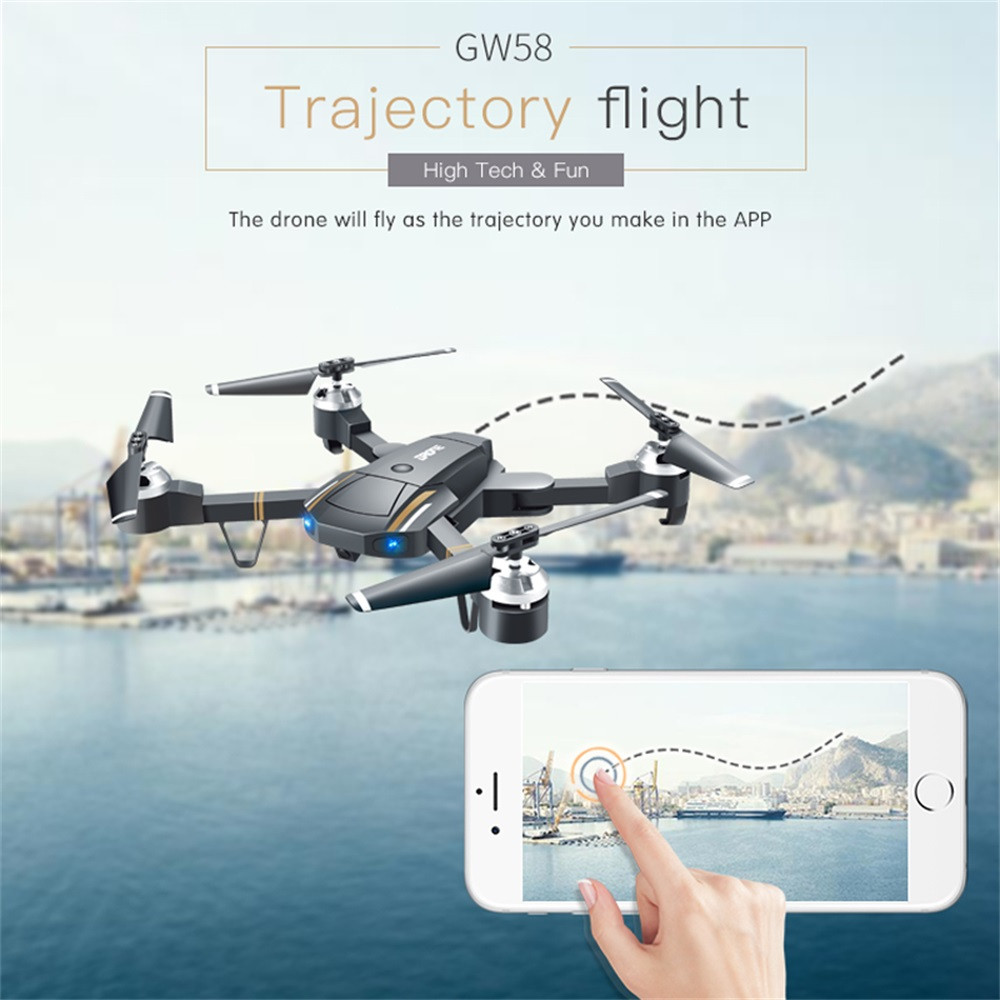 E58 Attitude Hold 2.4Ghz 4CH 1080P HD Camera Wifi FPV RC Drone Selfie Quadcopter Gift 2018 Brusting Airplanes Christmas gift drone x pro