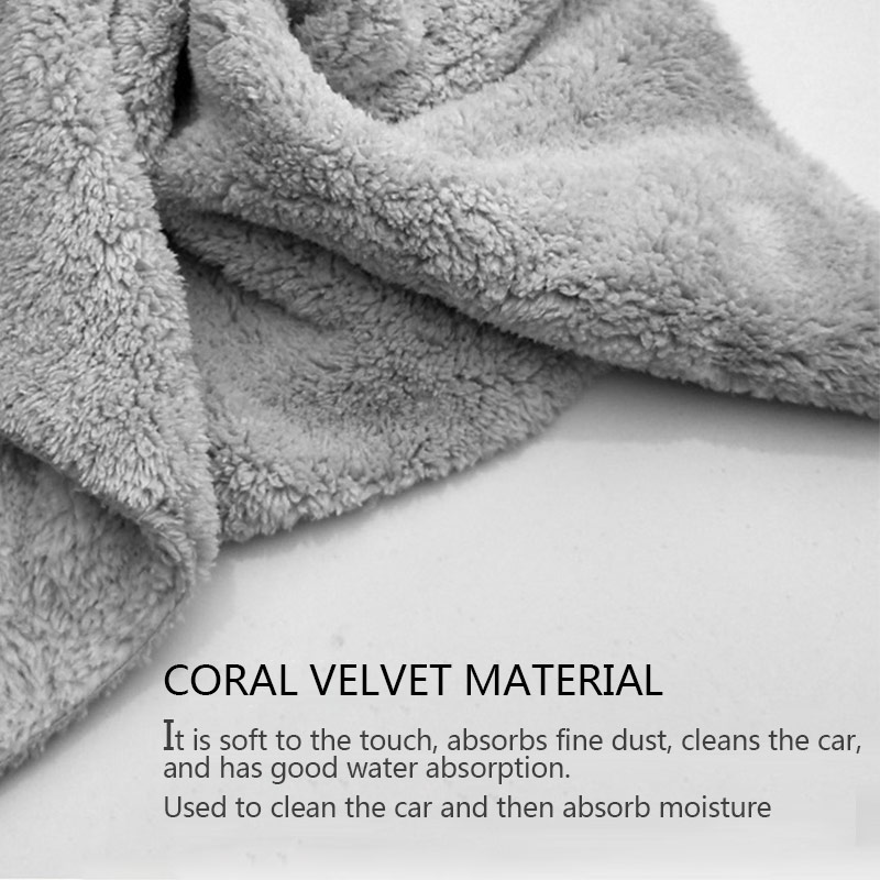 Image 5 - Car Wash Accessories Microfiber Towels Car Wash Towel Auto Detialing Clean Cloth Washing Drying Towels Strong Thick Plush Fiber-in Sponges, Cloths & Brushes from Automobiles & Motorcycles