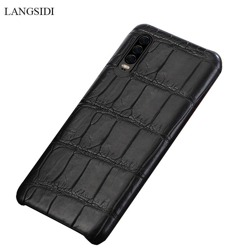 Натуральная крокодиловая кожа для huawei p30 pro высококачественный кожаный чехол для телефона для huawei p30 P10 Lite p20 pro защита от падения