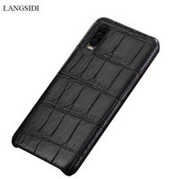 natural crocodile leather For Huawei p30 pro high end leather phone case for Huawei p30 Lite p20 pro fall protection sleeve