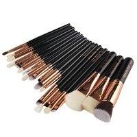 20pcs Set Brush Tool Kit Set Makeup Brushes Beauty Cosmetics Foundation Blending Blush Make Up