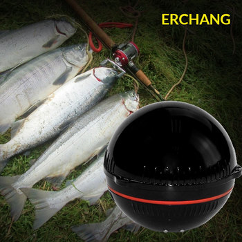 Sonar Fish Finder For Fishing Bluetooth Depth Sonar Sounder Fishfinder for IOS Iphone Android  Lake Sea Fishing bluetooth fish finder sea fish detect device for ios for android 25m 80ft sonar fishfinder wireless fishing detector top quality
