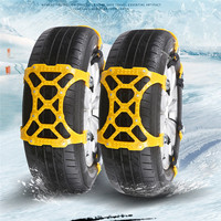 New Car Styling New 1PC Winter Truck Car Easy Installation Snow Chain Tire Anti Skid Belt