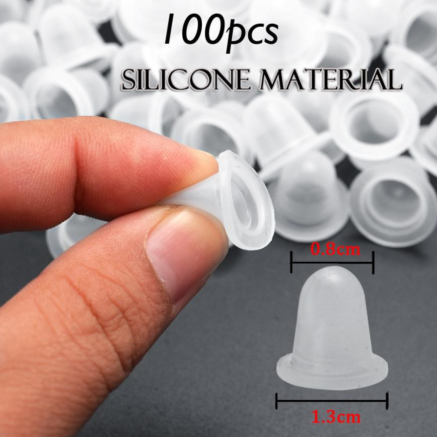100pcs Silicone Tattoo ink cup holder Pigment Caps Tattoo Ink Holder Permanent Makeup Tattoo Supplies 2U0118100pcs Silicone Tattoo ink cup holder Pigment Caps Tattoo Ink Holder Permanent Makeup Tattoo Supplies 2U0118