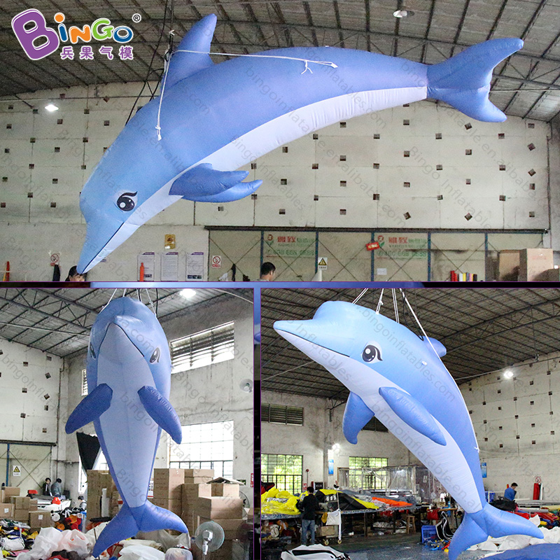 Dependable Personalized 3.5 Meters Big Inflatable Dolphin / Dolphin Balloon Inflatable / Inflatable Dolphin Decor Toys A Great Variety Of Goods