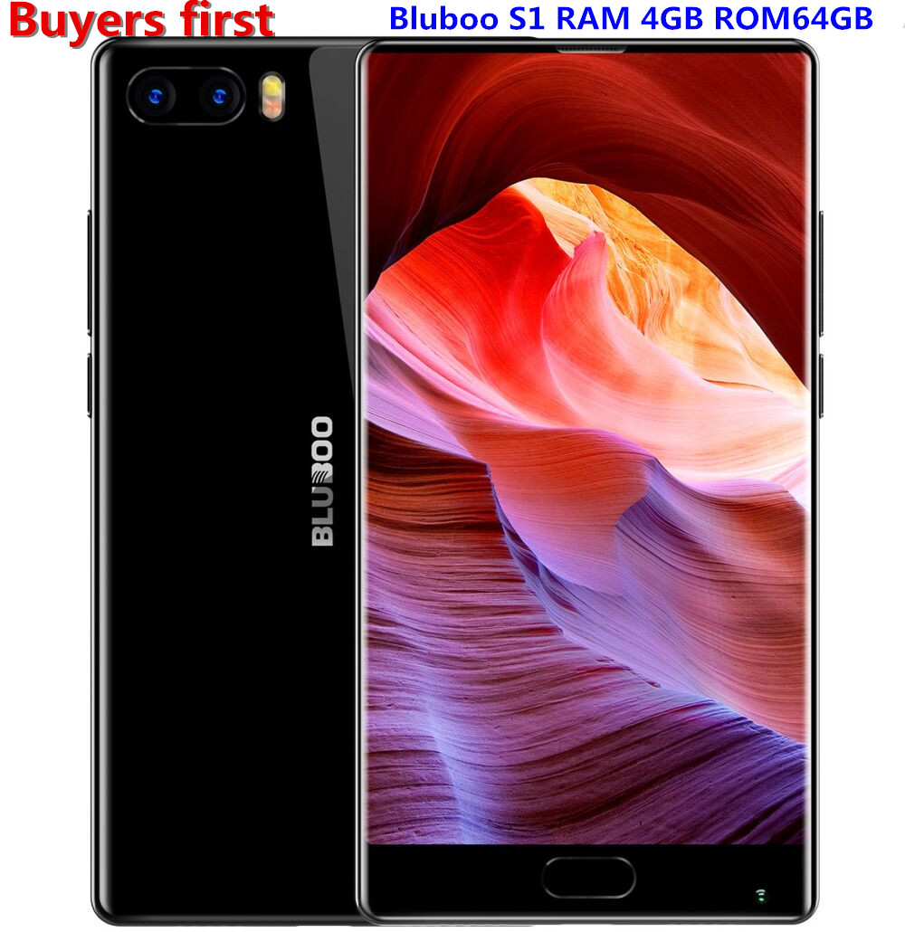 Bluboo S1 5 5 FHD 4G Smartphone Bezel less Helio P25 Octa Core Android 7 0