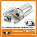 Starting Motor Electric Starter fit Dirt Pit Bike 2 Installation Hole Under Mounted Engine  50cc-125cc   Free Shipping