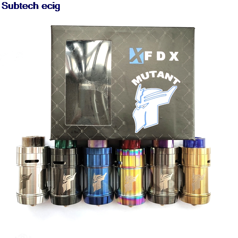 MUTANT RTA Tank with 810 resin Drip Tip 4ml Capacity 26mm Dual Coil Building Top Airflow for 510 mod vs <font><b>QP</b></font> Fatality <font><b>kali</b></font> <font><b>V2</b></font> <font><b>RDA</b></font> image