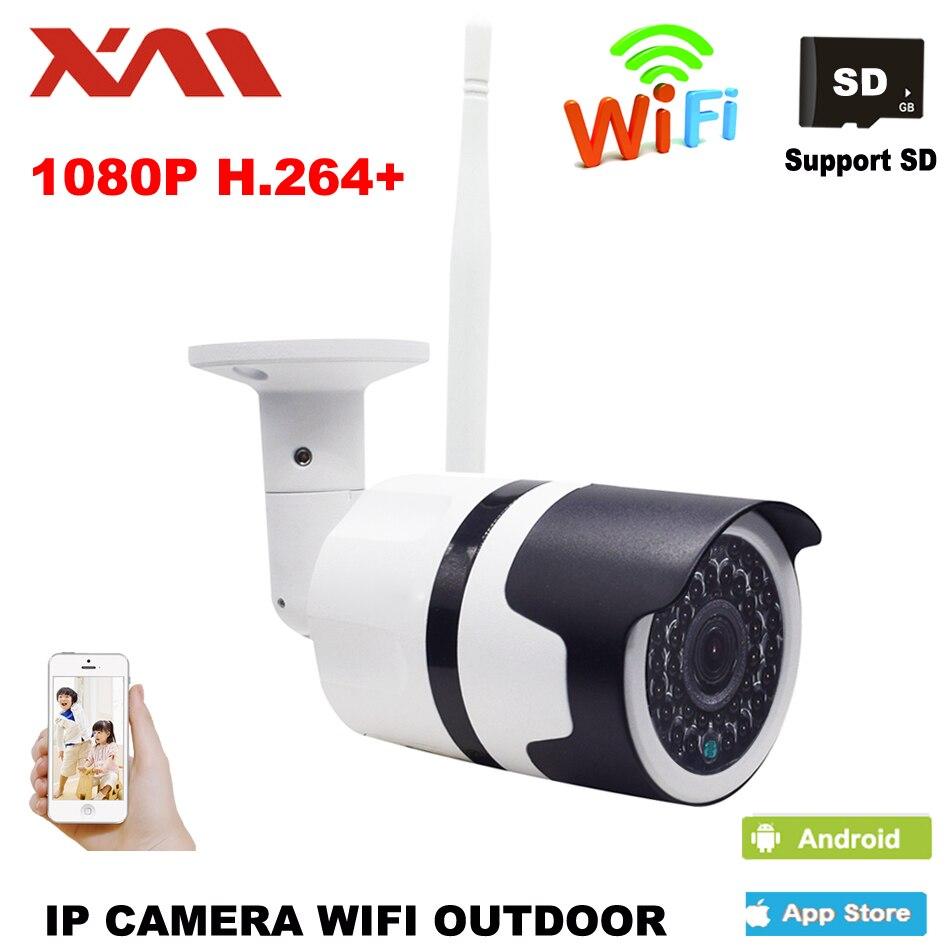 1080 P Ao Ar Livre Câmera IP Sem Fio À Prova D' Água Câmera IP Wi-fi Câmera de Visão Noturna de Vigilância de Segurança Em Casa CCTV Câmera 1920*1080