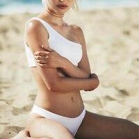 RUUHEE Bikini 2017 Black Swimwear Women Swimsuit Sexy Thong Bottom Bathing Suit Push Up Brazilian Bikini