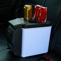 12V Portable Car Small Refrigerator Fridge Cooler & Warmer Enough Capacity