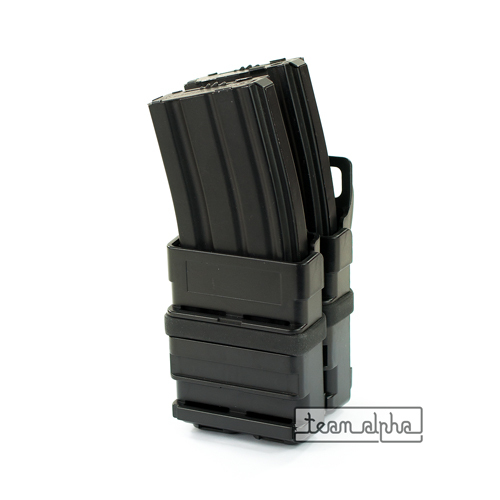 Coyote Airsoft Rifle 5.56 Mag Magazine Fast Attach Tactical Pouch Molle System