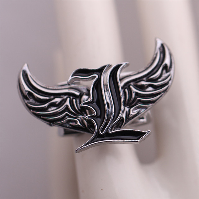Naruto Attack on Titan One piece Fairy Tail Alloy Charms Ring