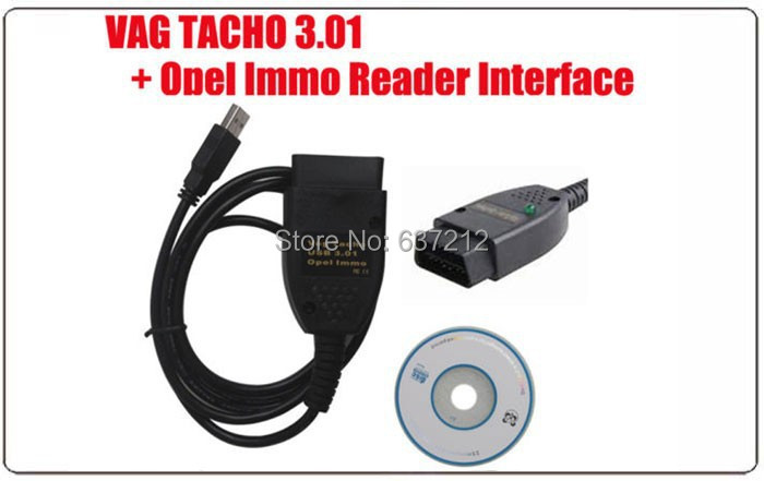 US $17 89 |VAG TACHO USB 3 01 + for Opel Immobilizer Diagnostics Airbag  Scanner for VW For Audi Pin Code Reading Mileage Reset-in Air Bag Scan  Tools &