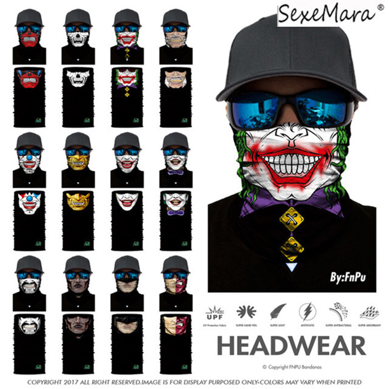 fa411e7caf8 3D Magic Headband Death Knight Pirate Scarf Skull Ski Cycling Neck Gaiter  Headband Motorcycle Neck Warmer 3D Face Mask Bandana-in Men s Scarves from  Apparel ...