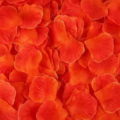 2000pcs/lot Wedding Party Accessories Artificial Flower Rose Petal Fake Petals Marriage Decoration For Valentine supplies 26