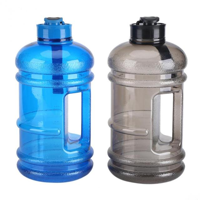 Sport Water Bottle Outdoor Sports Gym 2.2L Large Capacity Half Gallon Fitness  Workout Water Bottles Camping Running 50UU007