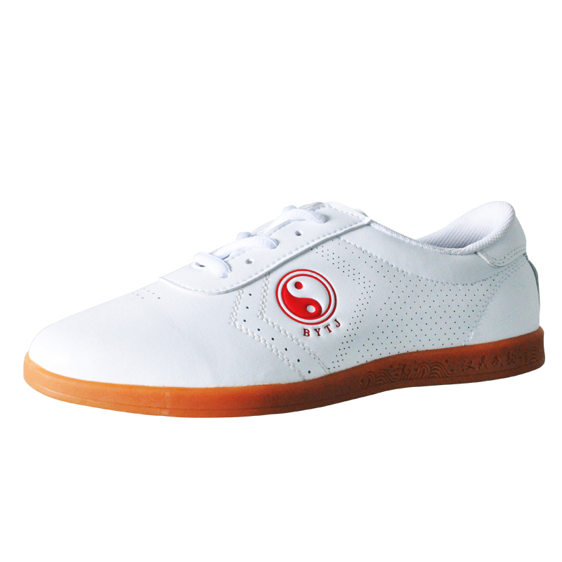 wesing Tai Chi Chaussures Homme Femme Unisexe Kung Fu Chaussures de sport, blanc, 35