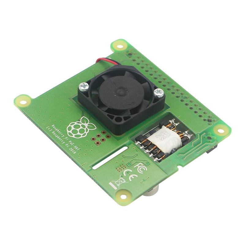 Image 3 - New Raspberry Pi PoE HAT Add on Board with Control Fan PoE Hat  Expension Board for Raspberry Pi 4 Model B / 3B  Plus / 3BDemo Board  Accessories