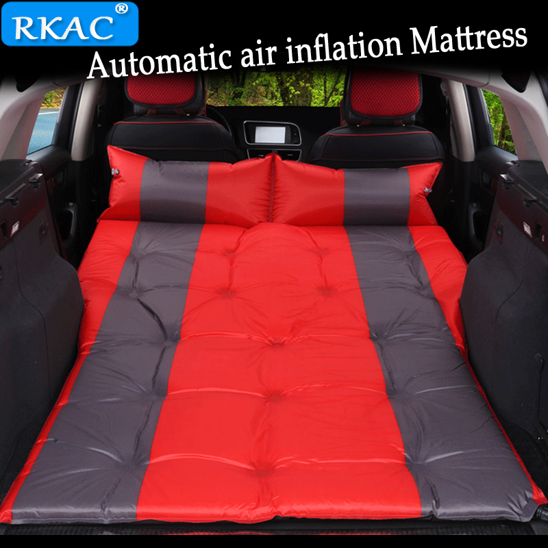 RKAC UNIVERSAL  SUV Automatic Car Inflatable mattress Aerated bed for SUV Outdoor Mattresses Car Travel Bed Car Sex Bed sofa cama inflable