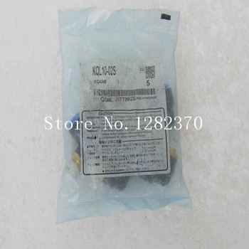 [SA] new original authentic spot SMC gas fitting KQL10-02S --20pcs/lot