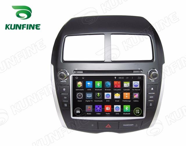 Quad Core 1024*600 Android 5.1 Car DVD Player de Navegação GPS Som Do Carro para MITSUBISHI ASX PEUGEOT 4008 CITROEN/C4 Rádio Wi-fi