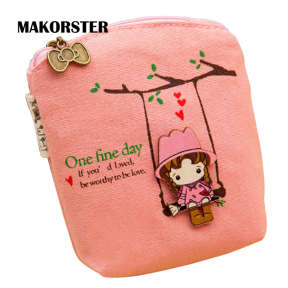 MAKORSTER Coin Wallet for Women Cute Purse Pouchs For Travel Ladies Pouch Women Coin Purses Holders coin purse for girls  MK118 2017 purse owl se cute wallets for children lovely coin purses for women mini bags for girls trinket small pouch wallet card zip