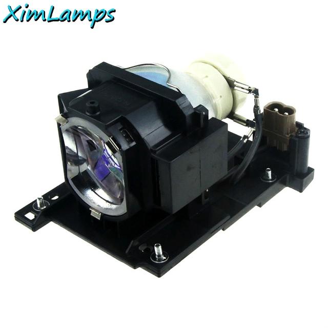Lâmpada do projetor de substituição com corpo dt01021 para hitachi cp-x2010n/cp-x2510/cp-x2510e/cp-x2510en/cp-x2510n/cp-x3010