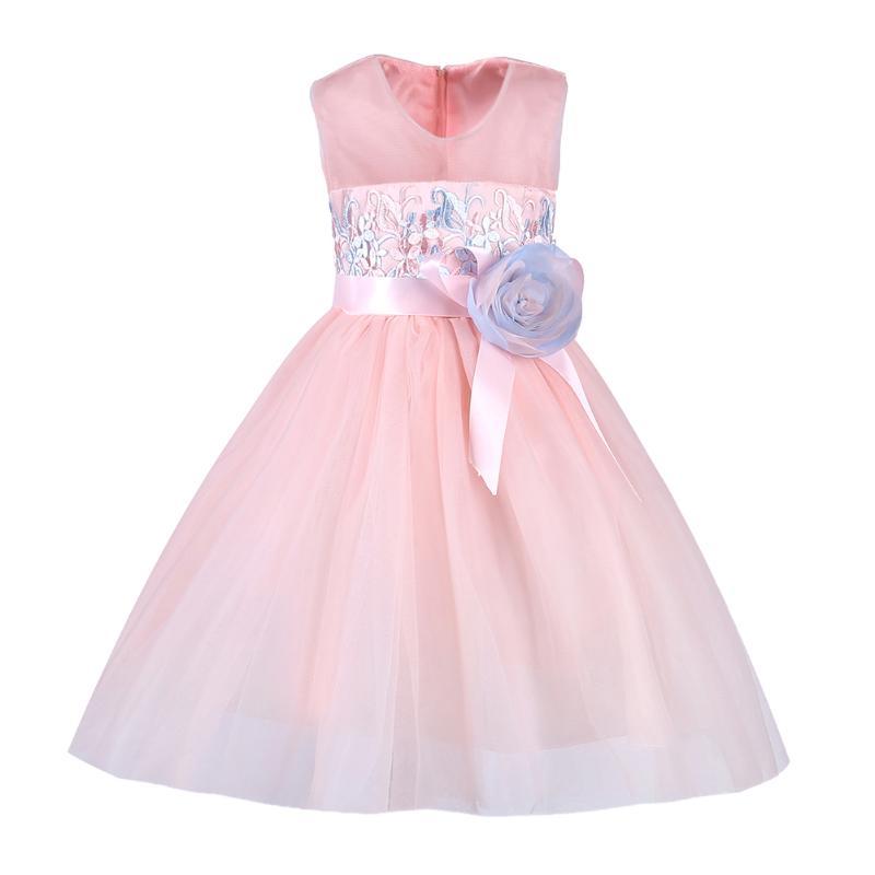 Princess Flower Girl Dress Summer Tutu Wedding Birthday Party Dresses For Girls Children's Costume Teenager Prom marfoli girl princess dress birthday
