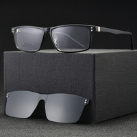 Brand Designer Polarized Sunglasses Men 2019 Fashion Magnet Clip on Sun Glasses Women Prescrioption Myopia Optical Glasses Frame