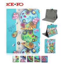Universal 9.7 inch 10 inch tablet PC  conch flower leather case 10.1 inch table magnetic Stand flip Cover case S4A92D