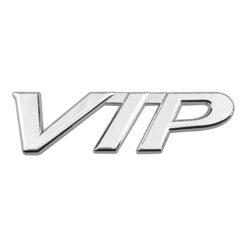 De Metal etiqueta VIP 3D Etiqueta de estilo de coche para BMW F10 E60 Mercedes W204 Ford Audi A3 Nissan KIA Lexus emblema de camión de la motocicleta