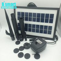 Bringsmart SR 170250DBL 3.6W For Fountain 7V With Solar Panel Kit Use For Pond And Submersible Solar Pump With Brushless