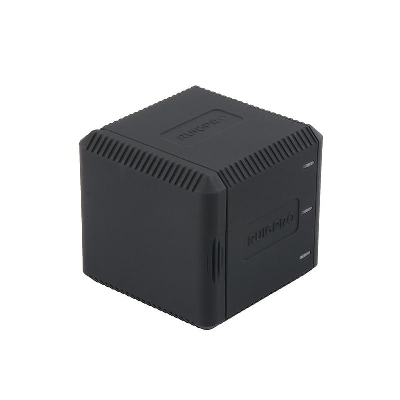 caixa carregador para gopro hero 7 6