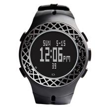 Оригинал EZON Мужчины Цифровые Часы Световой Известная Марка Мужчины Бизнес Часы Водонепроницаемые Часы Восхождение таблицу открытый часы