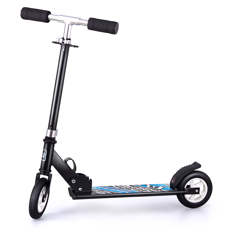 Infant Shining Scooter Can Be Folded Very Cool Two or Three Rounds of Aluminum Alloy Material Children Scooter