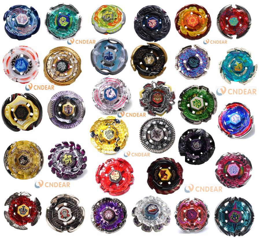 32 models Beyblade Metal Fury Different Styles Without