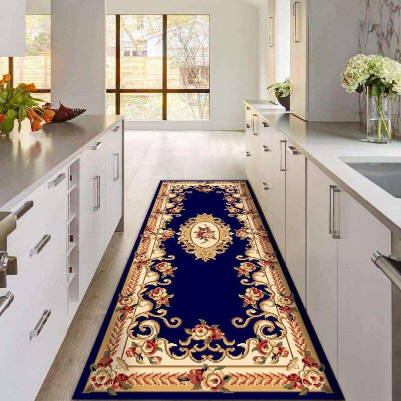 Thick Corridor Carpet Polypropylene Home Carpet Bedroom Anti-Slip Long Stairs Rug Sofa Coffee Table Floor Mat Hand Carved Rugs