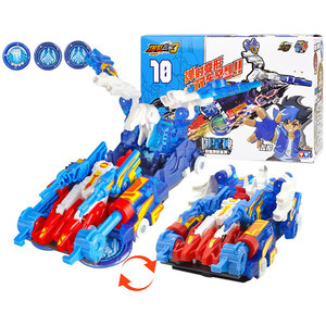 Image 5 - Newest Screechers Wild Multiple Chip Capture Wafer 360 degree Flipping Deformation Action Figures Transformation Car Vehicle Toy