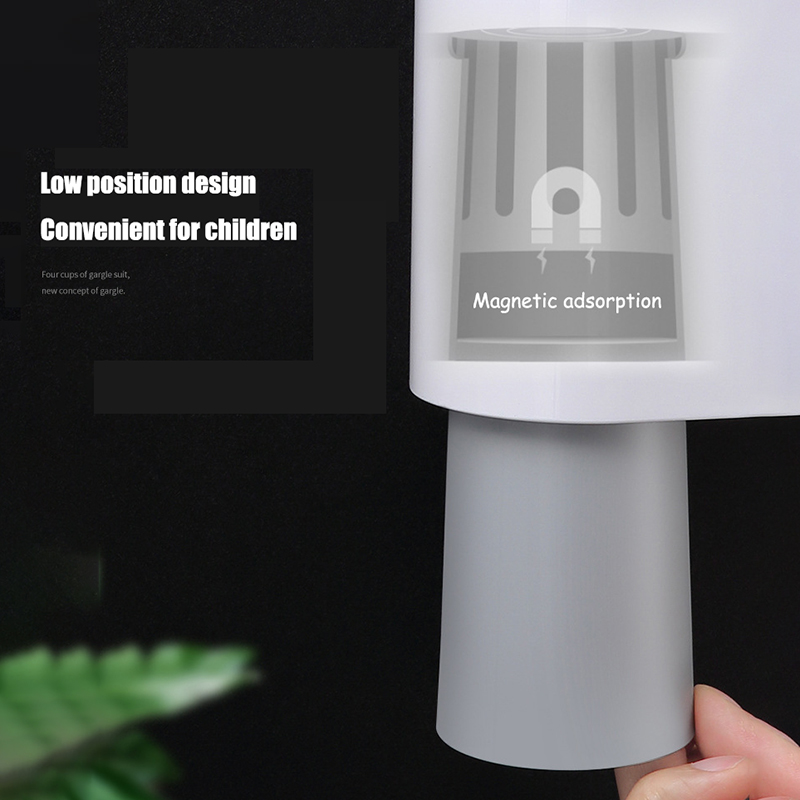 Automatic Toothpaste Dispenser | Toothbrush holder 5