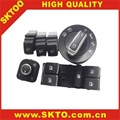 spare parts for vw turan switch lights top button control switch controller set chrome mirror lights