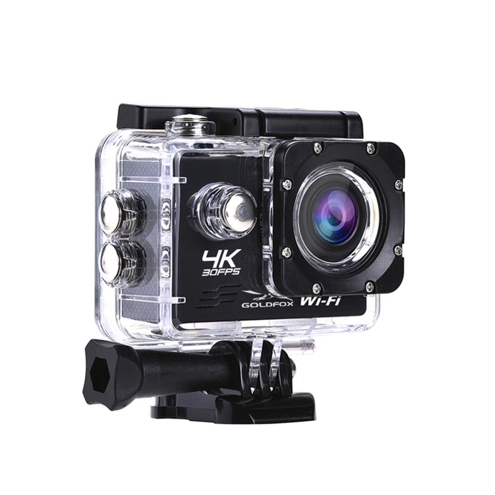 Image 2 - HD Wifi Action Camera 2 inch LCD Screen 4K 30FPS Outdoor Go Waterproof pro Diving Sports Helmet Camera DVR DV Video Recording-in Sports & Action Video Camera from Consumer Electronics