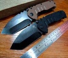 5PCS/LOT New sale Efeng MDF-3 folding knife Stonewash Steel Handle 440 Blade Hunting folding knife Outdoor camping knife