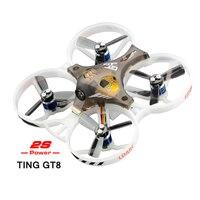 LDARC 2 S бесщеточный TING GT8 FPV Micro гоночный Drone Мини RC Quadcopter бета F3 10A BLHeli программа 25 МВт VTX OSD