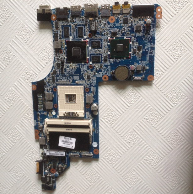 DV7-4000 605321-001 connect board connect with motherboard tested by system lap connect board 7560g p7ye5 la 6991p connect board connect with motherboard tested by system lap connect board