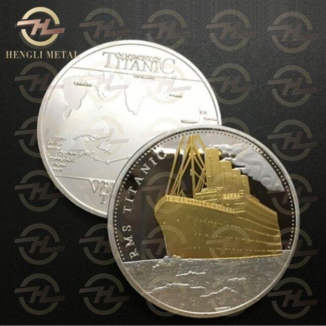 Rare Silver Amp Gold Titanic 100 Year Anniversary Coin